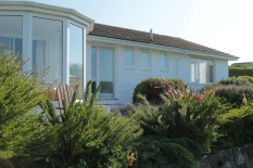 Back of holiday home