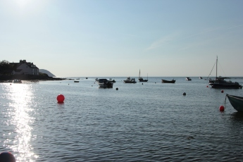 Boats on the Parrog