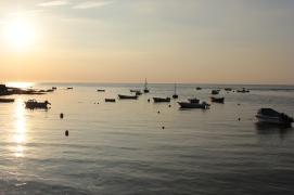 Sun Set over the Parrog